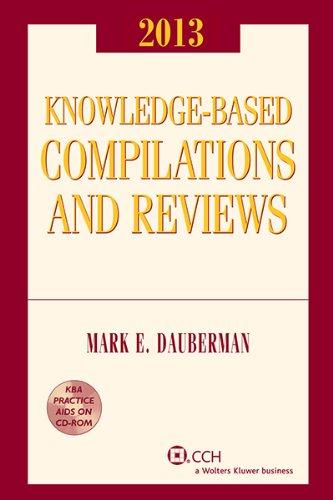 Knowledge-Based Compilations & Reviews, 2013: Mark E. Dauberman, CPA