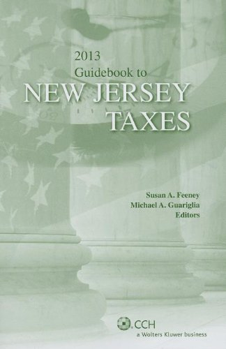 9780808031888: New Jersey Taxes, Guidebook to (2013)