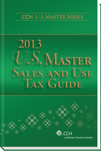 9780808032656: U.S. Master Sales and Use Tax Guide (2013)