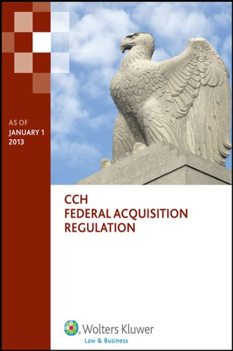 9780808033950: Federal Acquisition Regulation (FAR) as of January 1, 2013