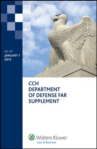 Department of Defense Far Supplement (Dfars) as of January 1, 2013 (Paperback): Aaron M Broaddus, ...