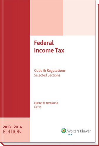 9780808034650: Federal Income Tax: Code and Regulations--Selected Sections (2013-2014)