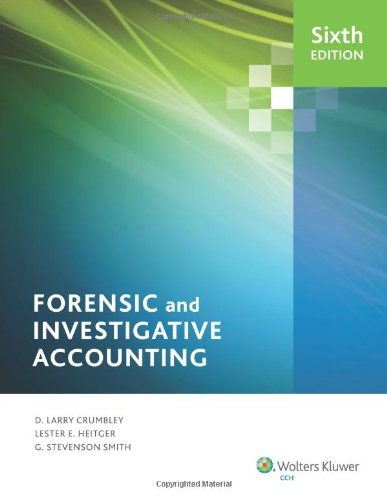 9780808034872: Forensic and Investigative Accounting