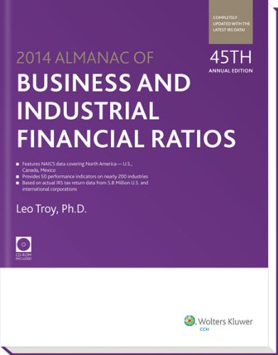 9780808034957: Almanac of Business & Industrial Financial Ratios (2014) (Almanac of Business and Industrial Financial Ratios)