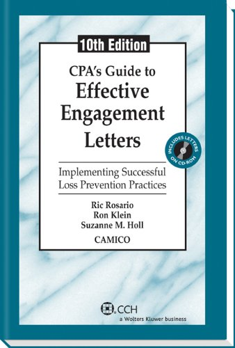 9780808035107: CPA's Guide to Effective Engagement Letters (Tenth Edition)