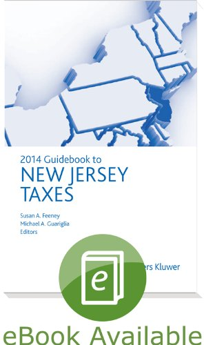 9780808035862: New Jersey Taxes, Guidebook to (2014)