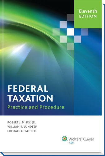9780808036012: Federal Taxation Practice and Procedure (11th Edition)
