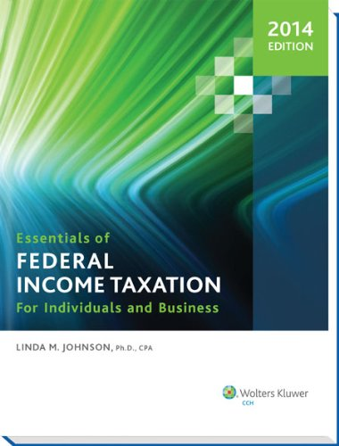 9780808036371: Essentials of Federal Income Taxation for Individuals and Business (2014)