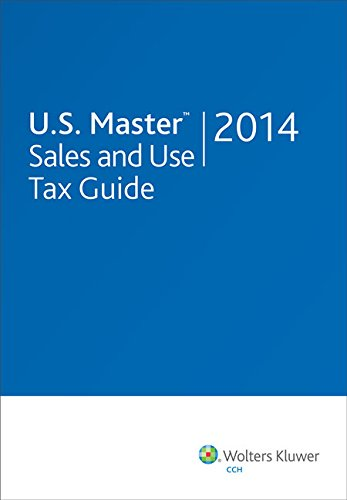 9780808037712: U.S. Master Sales and Use Tax Guide (2014)