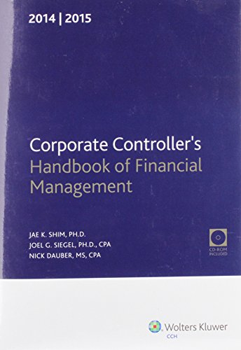 9780808037897: Corporate Controller's Handbook of Financial Management 2014-2015 + Cd-rom