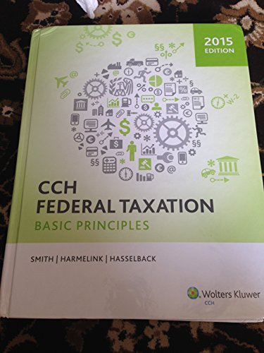 9780808037941: CCH Federal Taxation: Basic Principles, 2015 Edition