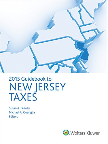 9780808038573: New Jersey Taxes, Guidebook to (2015)
