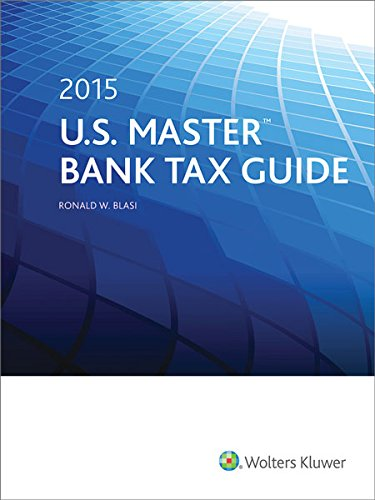9780808039365: U.S. Master Bank Tax Guide (2015)