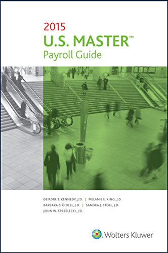 U. S. Master payroll guide, 2019 edition: wolters kluwer editorial.