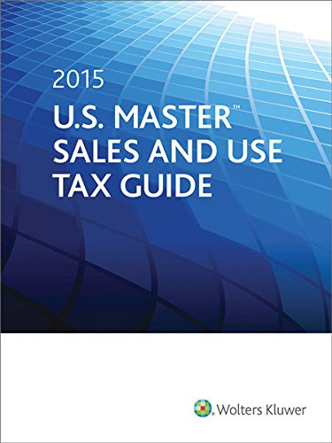9780808040507: U.S. Master Sales and Use Tax Guide (2015)