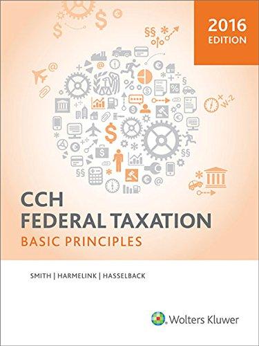 9780808040750: Federal Taxation: Basic Principles (2016)