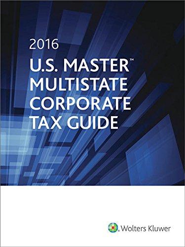9780808041184: U.S. Master Multistate Corporate Tax Guide (2016)