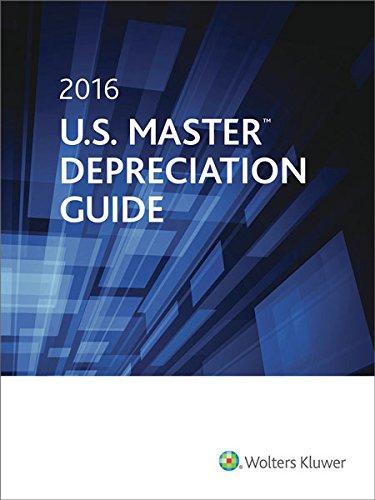 9780808041542: U.S. Master Depreciation Guide (2016)