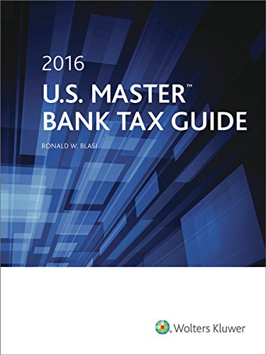 9780808041580: U.S. Master Bank Tax Guide (2016)