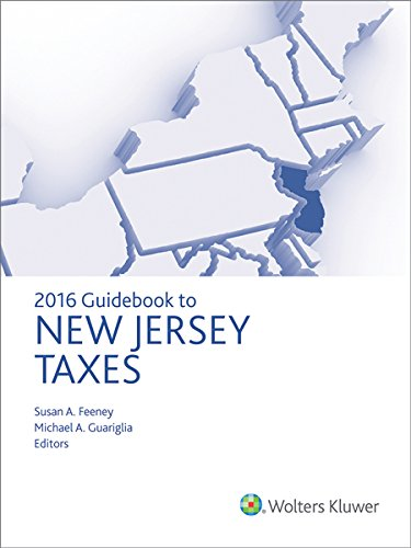 9780808041719: New Jersey Taxes, Guidebook to (2016)