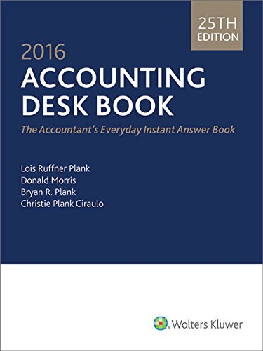 9780808041825: Accounting Desk Book (2016)