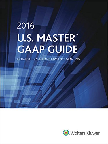 9780808042211: U.S. Master GAAP Guide (2016)