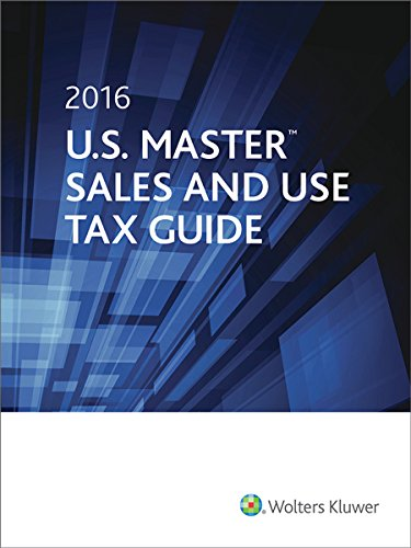 9780808042761: U.S. Master Sales and Use Tax Guide (2016)