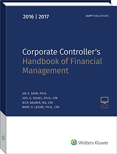 9780808044017: Corporate Controller's Handbook of Financial Management (2016-2017)