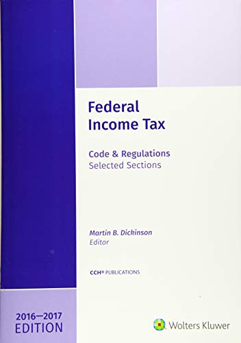9780808044161: Federal Income Tax: Code and Regulations--Selected Sections 2016-2017