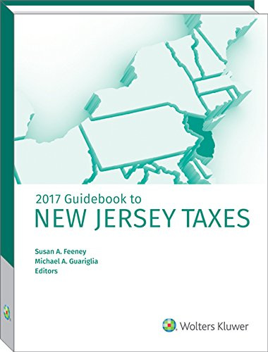 9780808044772: New Jersey Taxes, Guidebook to (2017)