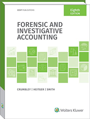 9780808046240: Forensic and Investigative Accounting (8th Edition)