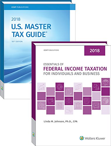 9780808048435: Essentials of Federal Income Taxation for Individuals and Business & U.S. Master Tax Guide Book Bundle (2018)