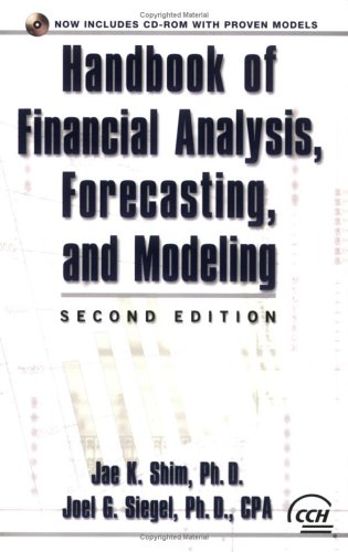 9780808089094: Handbook of Financial Analysis Forecasting and Modeling