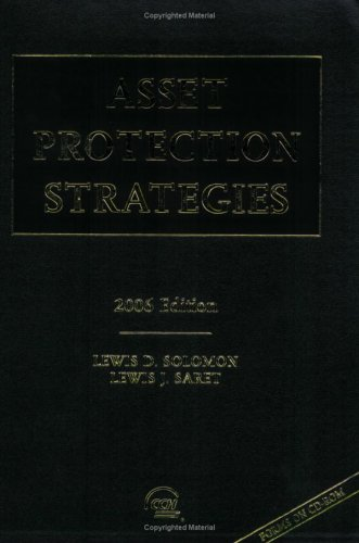9780808089278: Asset Protection Strategies, 2006 Edition