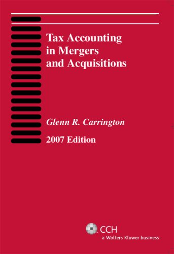 9780808089384: Tax Accounting in Mergers and Acquisitions