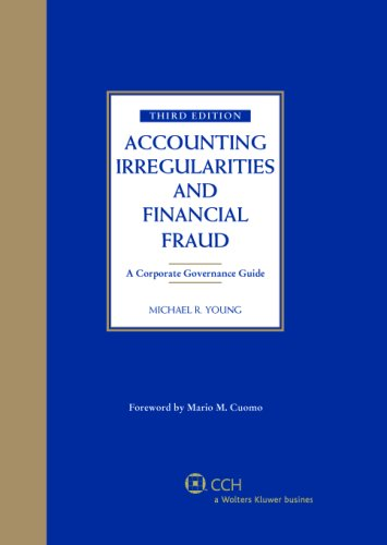 9780808089681: Accounting Irregularities and Financial Fraud (Third Edition)