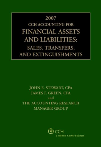 9780808090571: CCH Accounting for Financial Assets and Liabilities (2007)