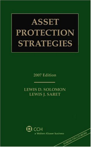 9780808090694: Asset Protection Strategies, 2007 Edition (with CD)
