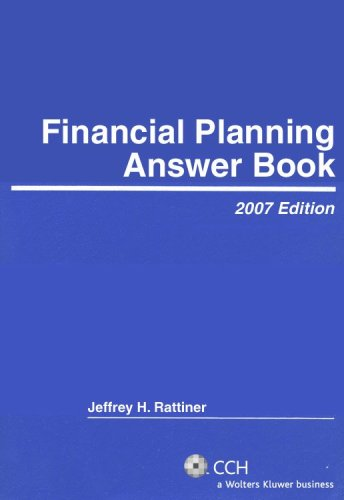9780808090793: Financial Planning Answer Book (Answer Books)
