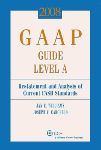 GAAP Guide Level A (2008) (Miller Gaap: Jan R. Williams