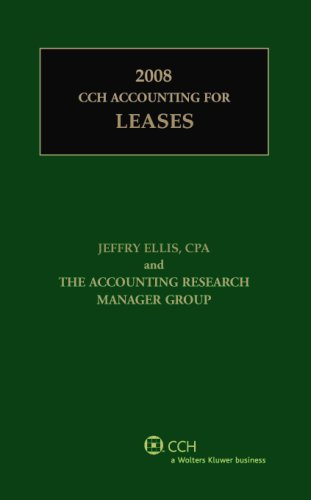 9780808091356: CCH Accounting for Leases (2008)