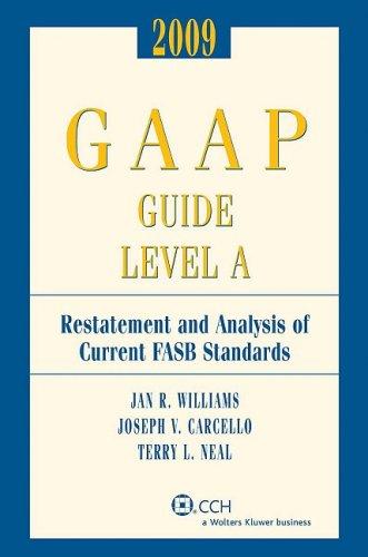 9780808092186: 2009 GAAP Guide Level A