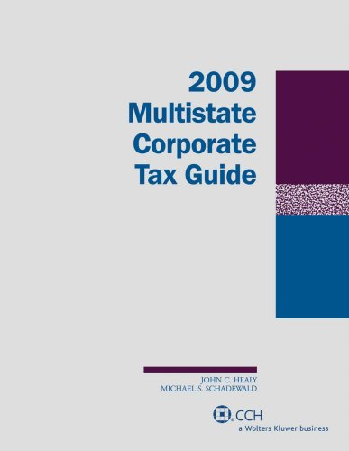 9780808092292: Multistate Corporate Tax Guide (2009) (Two Volume Set)