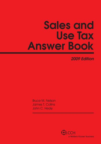 9780808092384: Sales and Use Tax Answer Book (2009) (Answer Books)