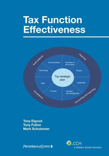 9780808092421: Tax Function Effectiveness