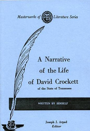 9780808400219: Narrative of the Life of David Crockett of the State of Tennessee