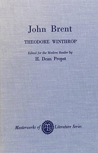 9780808401780: John Brent (Masterworks of Literature)