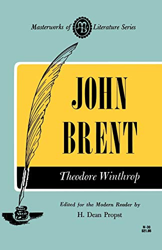 9780808401797: John Brent (Masterworks of Literature)