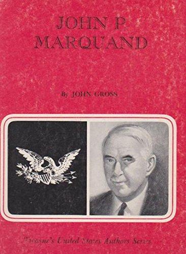 9780808401889: John P. Marquand