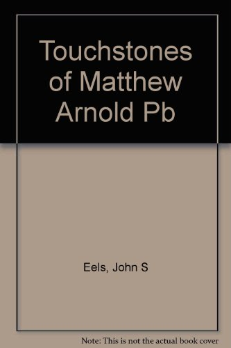 9780808403029: Touchstones of Matthew Arnold Pb